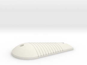 LPA NN-14 Right Grip in White Natural Versatile Plastic