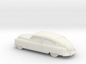 1/87 1949-50 Nash Ambassador Coupe in White Strong & Flexible
