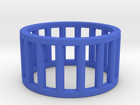 Albaro Ring Size-5 in Blue Processed Versatile Plastic