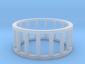 Albaro Ring- Size- 10 in Smooth Fine Detail Plastic