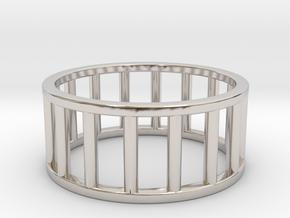 Albaro Ring- Size- 10 in Platinum