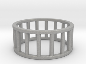 Albaro Ring- Size- 10 in Aluminum