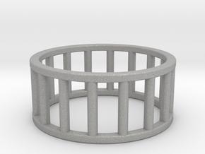 Albaro Ring- Size- 10 in Aluminum