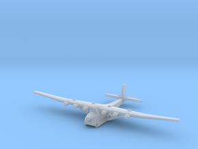 Me 323 E-2 WT-Gunship (1/285) in Smooth Fine Detail Plastic