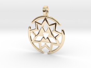 MAGNEVORTEX in 14K Yellow Gold