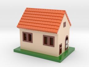 House in Glossy Full Color Sandstone
