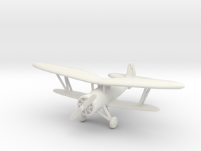 Nakajima Ki-4 1/200 in White Natural Versatile Plastic