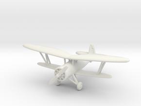Nakajima Ki-4 1/200 in White Natural Versatile Plastic