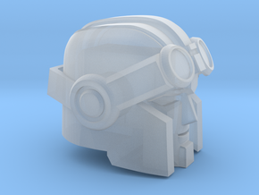 Whiny Hauler Head Commander Version in Smooth Fine Detail Plastic