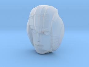 Arcee, G1 Face (Titans Return) in Smooth Fine Detail Plastic