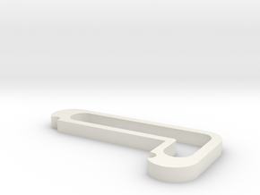 Spot Holder in White Natural Versatile Plastic