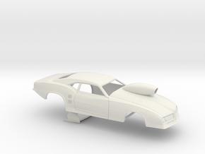 1/32 68 Firebird Pro Mod W Scoop in White Natural Versatile Plastic