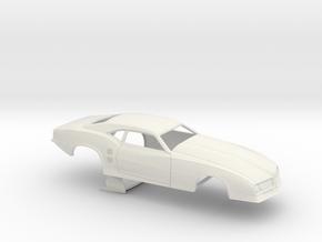 1/25 68 Firebird Pro Mod No Scoop in White Natural Versatile Plastic