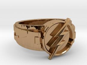 V3 Regular Flash Size 10.25 20mm in Polished Brass