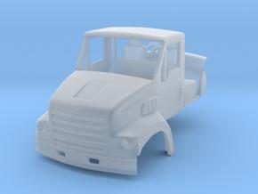 1/87 Sterling LT7501  truck cab w/ interior & mirr in Smooth Fine Detail Plastic