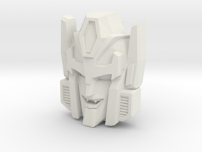 Headmonster Draculon Face (Titans Return) in White Natural Versatile Plastic