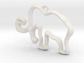 Mammoth! in White Natural Versatile Plastic: Medium