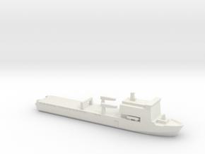Bay-class landing ship, 1/2400 in White Natural Versatile Plastic