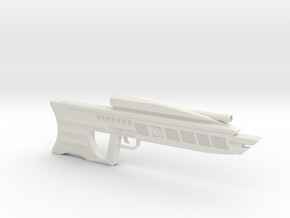 DER-15 Laser Rifle in White Strong & Flexible