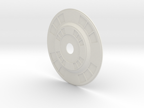 Oblivion turret Inside Face in White Natural Versatile Plastic