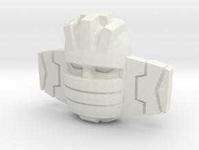 Wheeljack/Slicer Sunbow (Titans Return) in White Natural Versatile Plastic