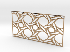 Screen design31 in Polished Brass