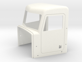 Pete Style Highrise Cab in White Strong & Flexible Polished