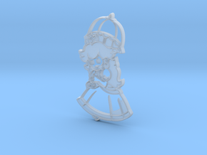 Paper Peach in Smooth Fine Detail Plastic
