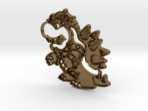 Paper Bowser in Natural Bronze