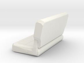 Jeep Rear Seat in White Natural Versatile Plastic