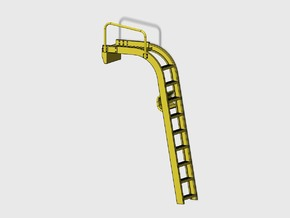 WING-X REBELL 1/29 EASYKIT DIORAMA LADDER in Smooth Fine Detail Plastic