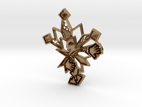 Dimentio in Natural Brass