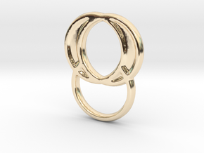 EGH 1A in 14K Yellow Gold