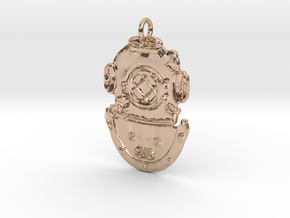 DSDiver Pendant in 14k Rose Gold Plated