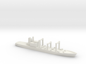 Towada-class replenishment ship, 1/2400 in White Natural Versatile Plastic