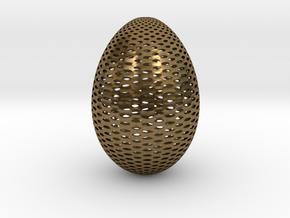 Designer Egg 2 in Natural Bronze