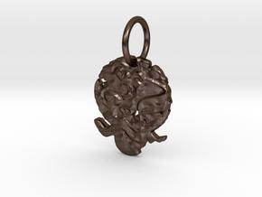carnival spider in Polished Bronze Steel
