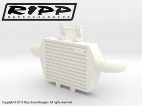 RS10003 Ripp Intercooler JK - WHITE in White Strong & Flexible Polished