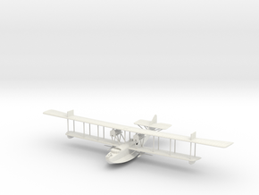 1/144 or 1/100 Felixstowe F.2a Early Model in White Natural Versatile Plastic: 1:100