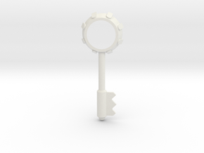 Resident Evil 3: Bezel key in White Natural Versatile Plastic