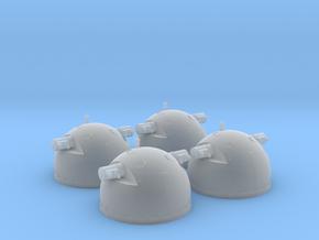 1/100 DKM SL-8 Rangefinders (set of 4) in Smooth Fine Detail Plastic