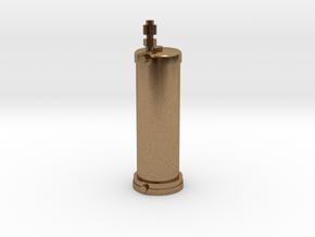 Pumpenupgrade II V2 in Natural Brass