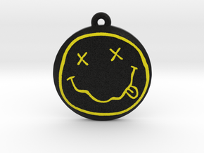 Nirvana Logo Pendant / Ornament in Full Color Sandstone