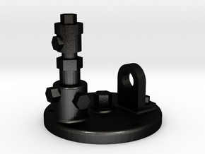Pumpenupgrade III V2 in Matte Black Steel
