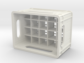 1/10 scale beer case in White Strong & Flexible