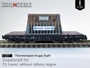 Thermohaube Krupp-Stahl (I 1:32) in White Strong & Flexible