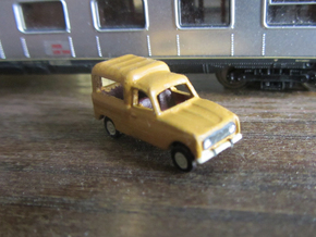 Renault 4 van 1:160 Scale (Lot of 2 cars) in Frosted Ultra Detail