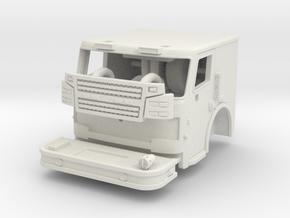1/64 Rosenbauer 2 man cab in White Strong & Flexible