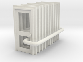 Door Type 2 - 900 X 2000 X 10 in White Strong & Flexible: 1:76