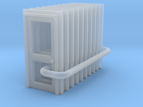 Door Type 2 - 900 X 2000 X 10 in Smooth Fine Detail Plastic: 1:148